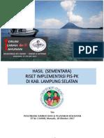 FIT III IAKMI - HASIL  SEMENTARA RISET IMPLEMENTASI PIS-PK DI KAB LAMPUNG SELATAN.pdf