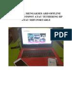 Tutorial Mengakses ARD Offline Dengan Hotspot Atau Tethering HP Atau MIFI-1