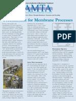 Pretreatment for Membrane Processes