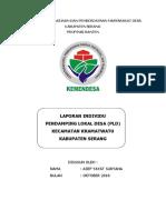 Program Pembangunan Dan Pemberdayaan Masyarakat Desa