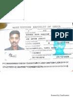 Joe - Passport Scan Copy