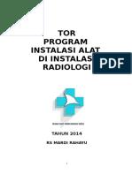Tor Program Instalasi Alat