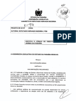 Código de Defesa Animal Da Paraíba