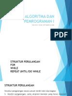 Struktur Perulangan