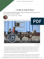 Economía cubana. Triana