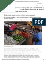 Dinámica de Gastos Básicos en Cuba (Primera Parte) _ Inter Press Service en Cuba