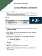 Guía Derecho Internacional Privado (Primera Parte)