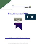 SA 8000 2001 Standard