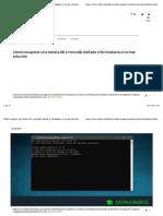 Recuperar Una Tarjeta SD-windows