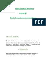 INFORME #7 - LABORATORIO DE SUELOS 2018.docx