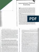 "Oatley, Thomas (2012), ""International Political Economy"".Capítulo 1"