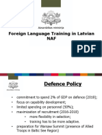Foreign Language Training in Latvia