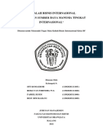 Kel 9 Manajemen Sdm Tingkat Internasional