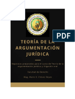 Teoria de La Argumentación Jurídica