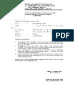 Surat Pertanggungjawaban Mutlak (SPTJM)