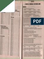 Teste-grilă de limba română pentru admitere