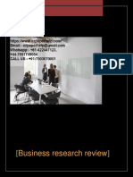 Business Research Review