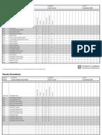 Provisional Broadsheet Results File for November 2009