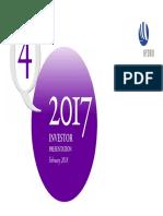 Investor Presentation q4 2017