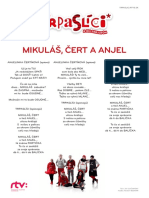 Mikuláš, Čert a Anjel