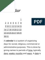 Calendar - Wikipedia