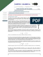 Acústica Musical_ Instrumentos de percusión --_ Principios de funcionamiento