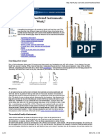 How Do Woodwind Instruments Work?