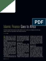 Islamic Finance Goes to Africa