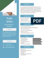 Simple Resume - CV Sir Rudy