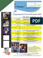 Programme Cinéma 50