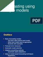 Basic Forecasting Methods