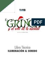 Libro Iluminación & Sonido - El Grinch