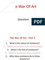 part 3 the war of art - part 3