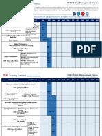 Smd 2019 Training Calendar