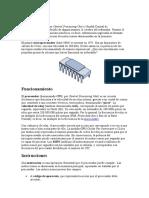 Introducción-arquitecturas de procesadores