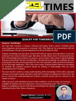 Best Training Center in Noida Newsletter October2018-Converted