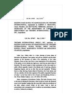 Bagong Pagkakaisa Ng Manggagawa Ng Triumph International v. Secretary of DOLE