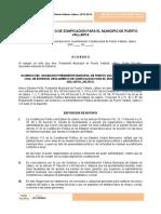 Reglamento de Zonificacion Para El Municipio de Puerto Valalrta, Jalisco22jul16