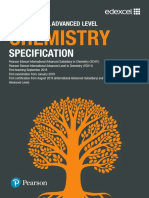 International a Level Chemistry Spec