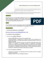 Exenciones de Fct en Ciclos Formativos 18-19