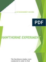 Hawthorne Experiment.pptx