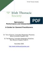 Guideline spirometry