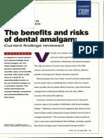 The Benefits and Risks of Dental Amalgam