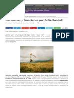Meridianos y Emociones Por Sofía Randall