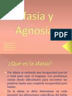 Afasia y Agnosia María Adrián Miguen Miguelp