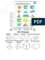 shapes 3d