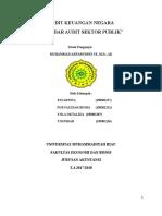 Makalah Perkembangan Standar Audit Sektor Publik