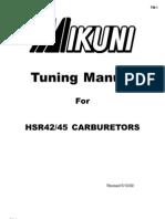 Mikuni Tuning Manual for HSR42_45 Carbs