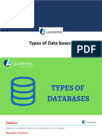 Types of Data Bases