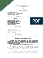Motion to Intervene